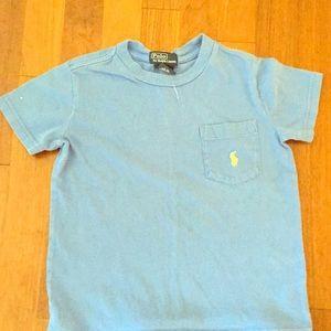 Shirts & Tops - Blue polo tee shirt